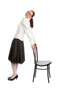 Free Girl Posing Stock Image - 5244511