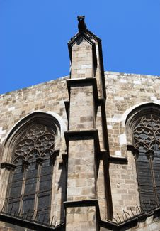Free Details Of Barcelona Cathedral Stock Photo - 5244530
