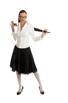 Free Girl Posing Stock Photography - 5244532