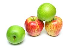 Free Ripe Juicy Apples 4 Royalty Free Stock Photos - 5244888
