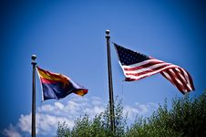Free Flags Royalty Free Stock Photography - 5244907