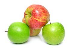 Free Ripe Juicy Apples 2 Stock Image - 5245191