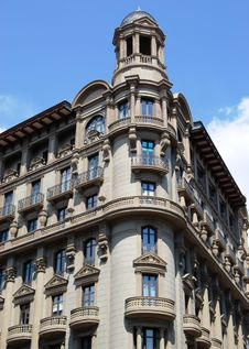 Free Art Nouveau Of Barcelona Stock Photography - 5245342