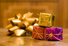 Free Little Gift Boxes Stock Photo - 5246040