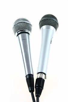 Free Microphones Royalty Free Stock Images - 5246089