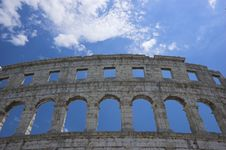 Free Roman Arena In Pula Stock Photos - 5246153
