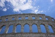 Free Roman Arena In Pula Stock Photos - 5246153