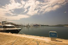 Free City Harbour In Pula Royalty Free Stock Photography - 5246157