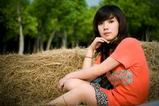 Free Young Lady Stock Photography - 5246612