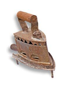 Free Anitque Iron Royalty Free Stock Photo - 5247035