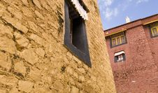 Free Colorful Monastery In Tibet Royalty Free Stock Photos - 5247298