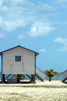 Cabaňa - Belize Stock Image