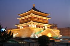 Free Chinese Building Royalty Free Stock Photography - 5247887