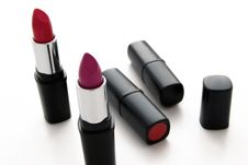 Free Lipsticks Royalty Free Stock Image - 5248066