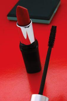 Free Red Lipstick Royalty Free Stock Photo - 5248175