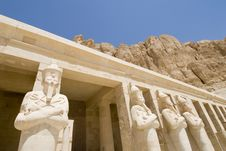 Free Al-deir Al-bahari Temple Stock Image - 5248331