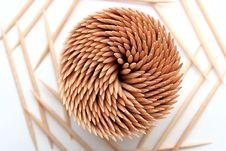 Free Wooden Toothpicks Stock Image - 5248361
