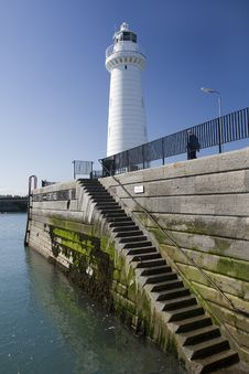 Free Steps To The Light House Stock Image - 5248501