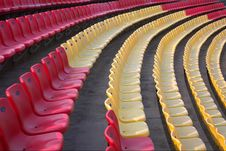 Free Color Chairs Royalty Free Stock Photography - 5248657