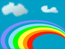 Free Rainbow Royalty Free Stock Image - 5249096