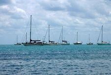 Free Boats On Sea Royalty Free Stock Photos - 5249258