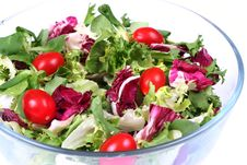 Free Fresh Salad Mix Stock Image - 5249621