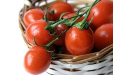 Free Cherry Tomatoes Royalty Free Stock Image - 5249636