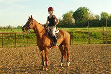 Free Teenager On Horseback Royalty Free Stock Images - 5249929