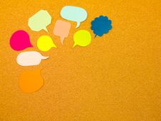 Free Colorful Balloons (Cork Board Background) Stock Photography - 52422872
