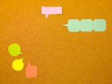 Free Colorful Balloons (Cork Board Background) Stock Photos - 52423123