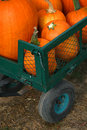 Free Pumpkins In A Wagon Royalty Free Stock Photos - 5250858