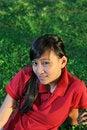 Free Casual Asian Girl Royalty Free Stock Photos - 5251118