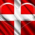 Free Switzerland Crystal Heart Stock Images - 5251154
