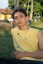 Free Serious Asian Man Royalty Free Stock Photos - 5251158