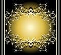 Free Design Floral Frame Background Stock Photos - 5255023