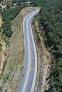 Free Road From Bird Eye Royalty Free Stock Image - 5256046