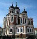 Free Russian Church In Tallinn Stock Image - 5256171