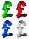 Free Symbol 3D Group Stock Photo - 5256330