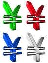 Free Symbol 3D Group Stock Image - 5256341