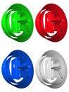 Free Symbol 3D Group Stock Photo - 5256520