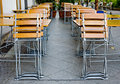 Free Little Empty Summer Cafe Royalty Free Stock Image - 5258866