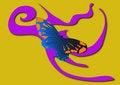 Free Butterfly In Flight Stock Photos - 5259733