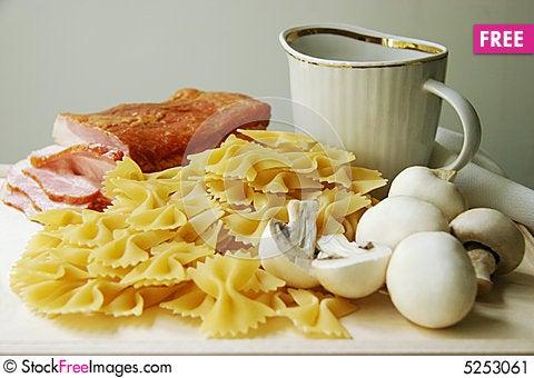 Free Ingredients For Pasta. Stock Image - 5253061