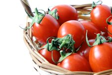 Free Cherry Tomatoes Royalty Free Stock Photography - 5250207