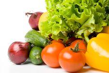 Free Fresh Vegetables Royalty Free Stock Image - 5250456