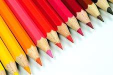 Free Colored Pencils Royalty Free Stock Image - 5250606