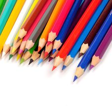 Free Colored Pencils Royalty Free Stock Photos - 5250688