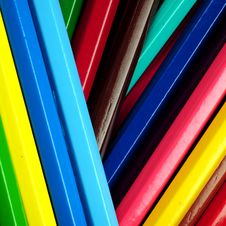 Free Colored Pencils Royalty Free Stock Image - 5250836