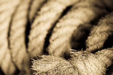 Free Close-up Rope Royalty Free Stock Photos - 5250888