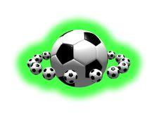 Free Soccer Balls Royalty Free Stock Photos - 5250908